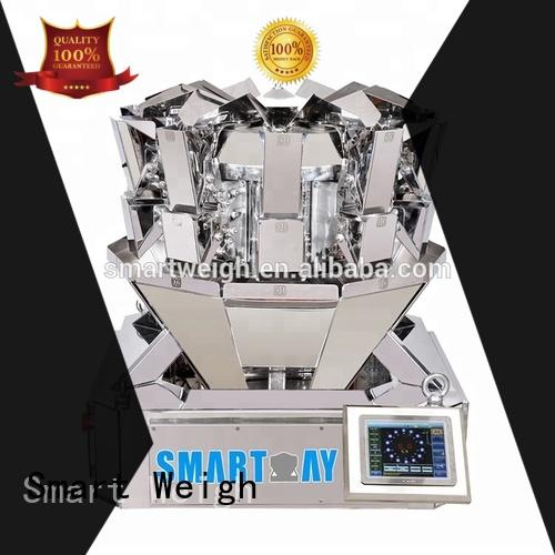 Smart Weigh dimpled bulk multi head weigher directly sale for food weighing