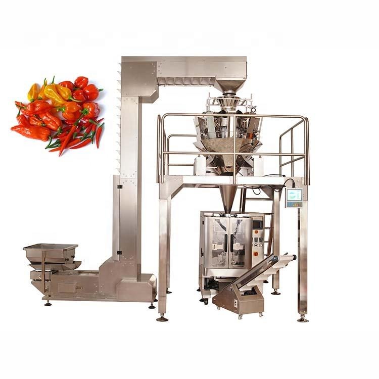 Hot selling low price Chinese factory direct sales pepper packing machine
