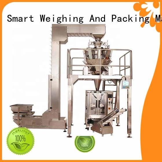 Smart Weigh stable sachet packaging machine for food labeling