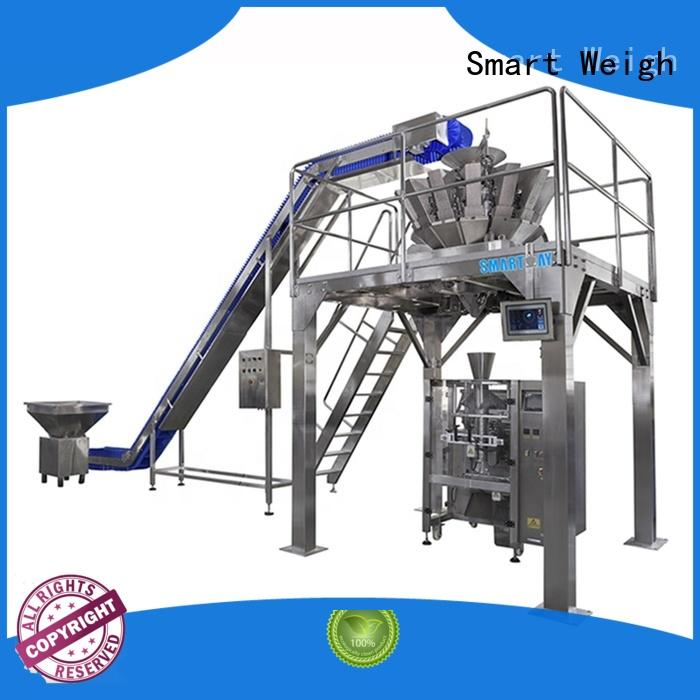 Smart Weigh head automatic bag packing machine for food packing