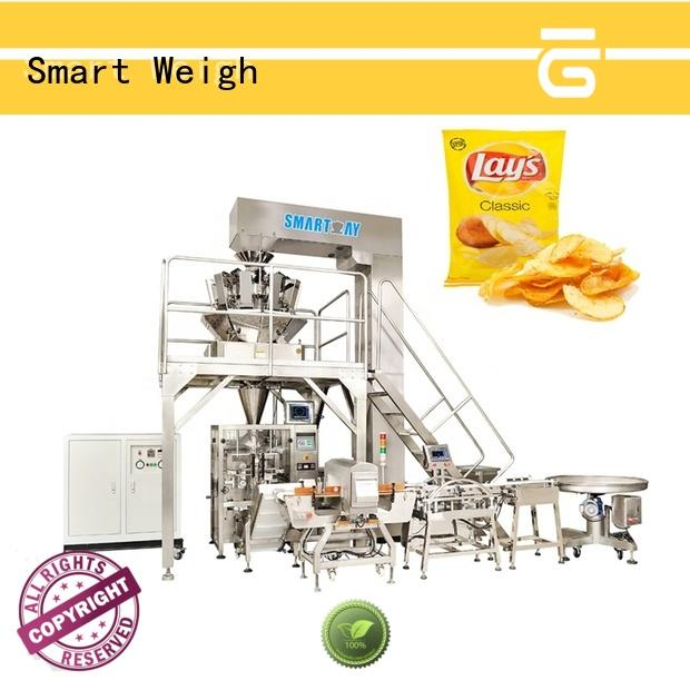 Smart Weigh ce vertical form fill and seal machines for food weighing