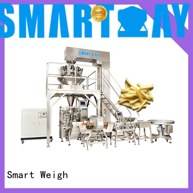 Smart Weigh new vertical form fill seal machine manufacturers for food weighing
