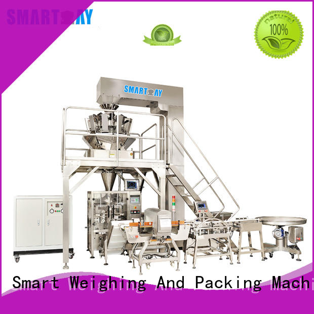 Smart Weigh highranking pouch packing machine company for food weighing