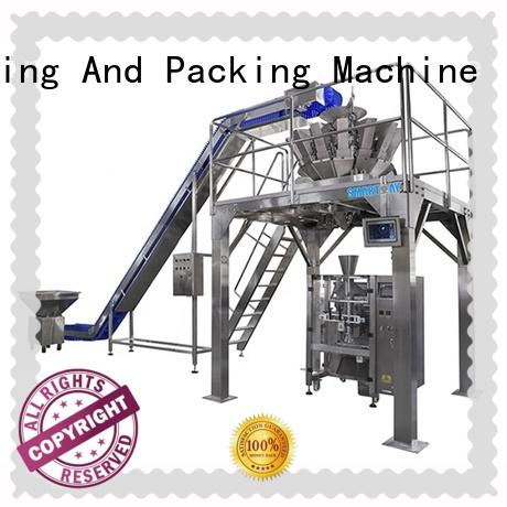 Smart Weigh weigher doypack packaging machine factory price for food labeling