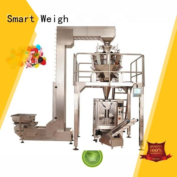 Smart Weigh quadsealed stick filling machine with good price for food weighing