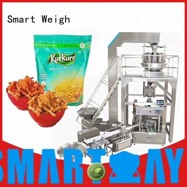Smart Weigh nuts stick pack machine suppliers for foof handling