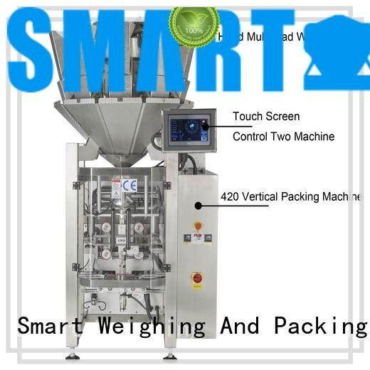 Smart Weigh line vffs packaging machine suppliers for frozen food packing