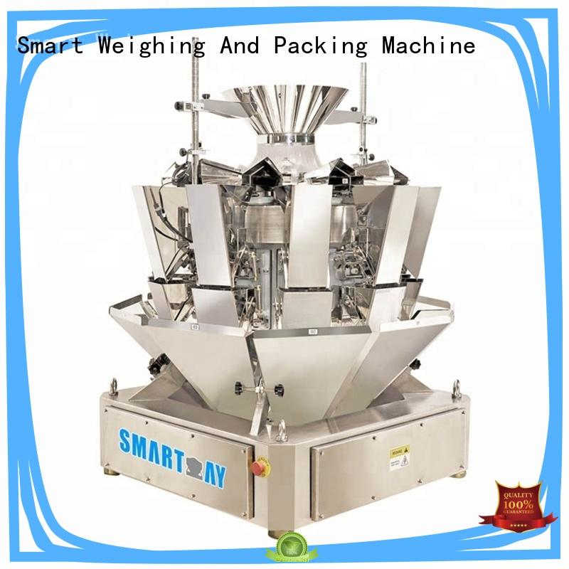 Smart Weigh design vertical filling machine for frozen food packing
