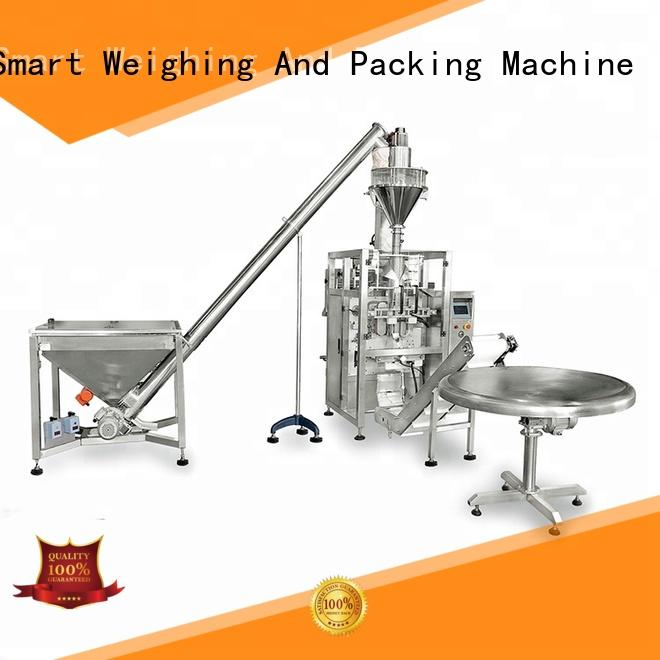 Smart Weigh rotary mini pouch packing machine price manufacturers for food labeling
