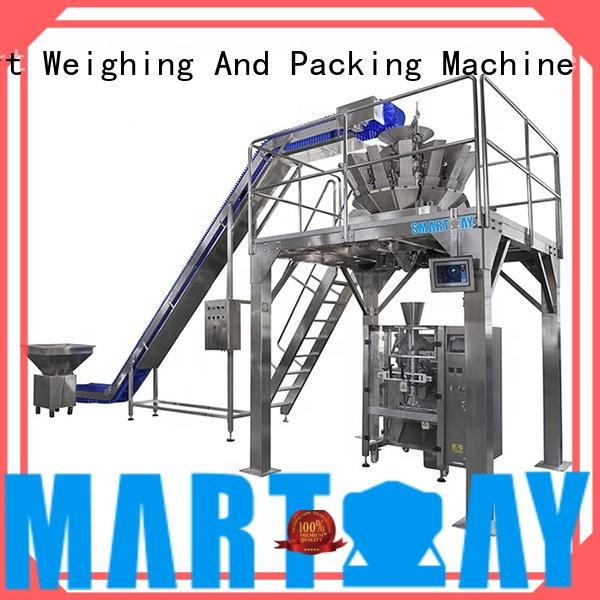 stable chocolate packing machine quadsealed factory for food weighing