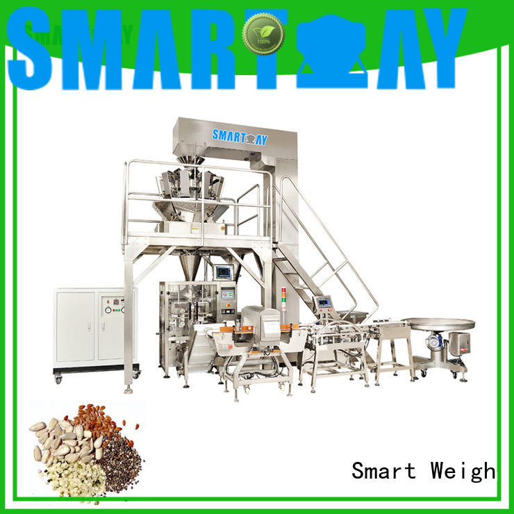 Smart Weigh hazelnuts vertical packing machine for business for salad packing