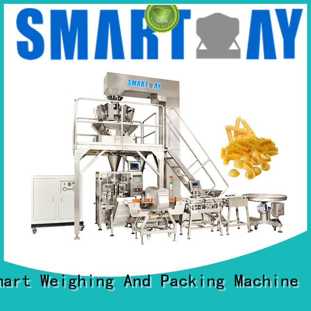 Smart Weigh nut vffs packaging machine suppliers for salad packing