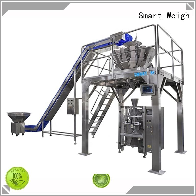 Smart Weigh weigher material packing machine factory for foof handling
