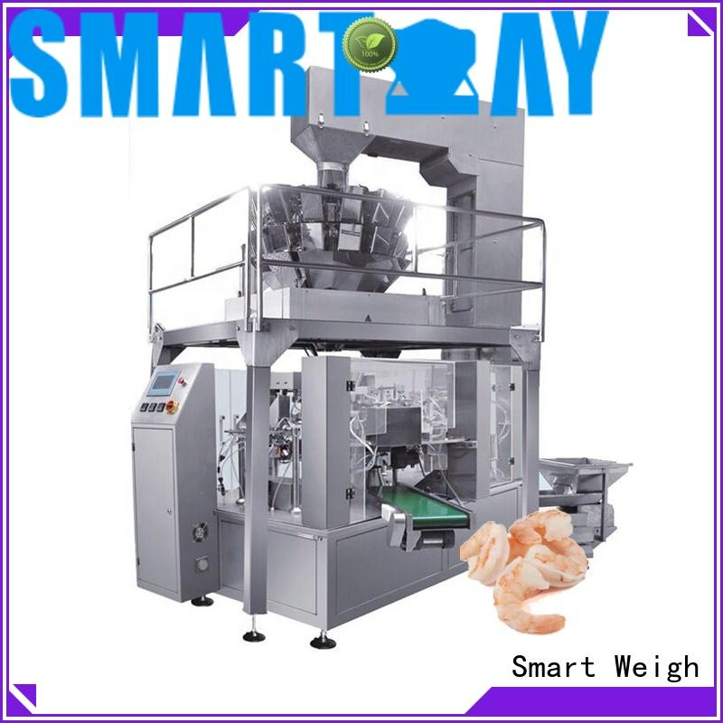 Smart Weigh pickle bagging machine factory for meat packing