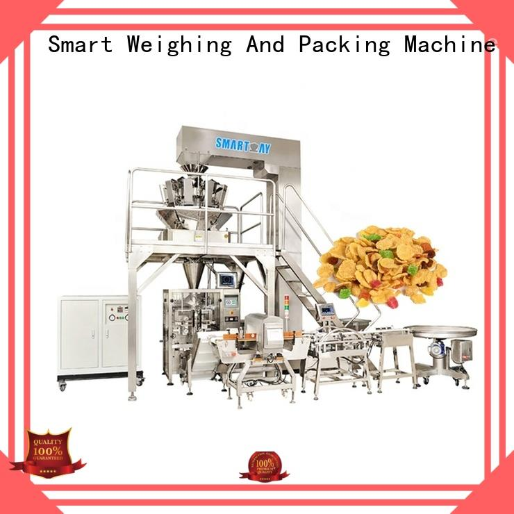 Smart Weigh 35kg vertical packing machine company for chips packing