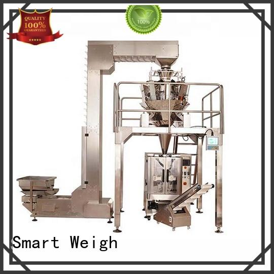 Smart Weigh station potato packing machine with cheap price for food labeling