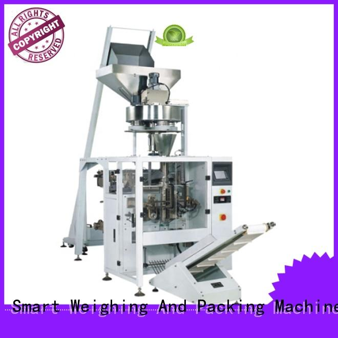 Smart Weigh or vertical form fill seal machine manufacturers for food packing