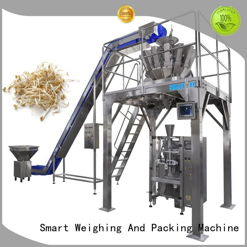 Smart Weigh vertical shrink packaging machine with cheap price for food weighing