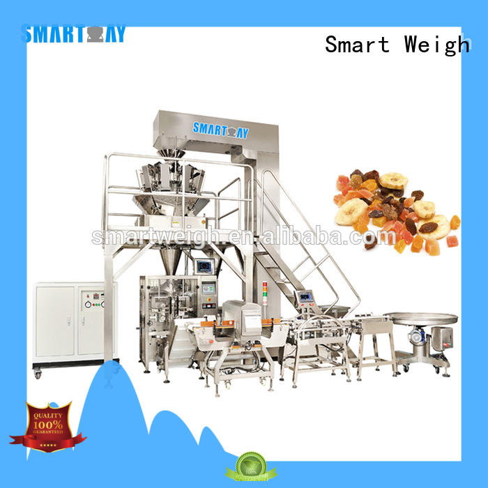 Smart Weigh steel vertical packing machine price manufacturers for meat packing