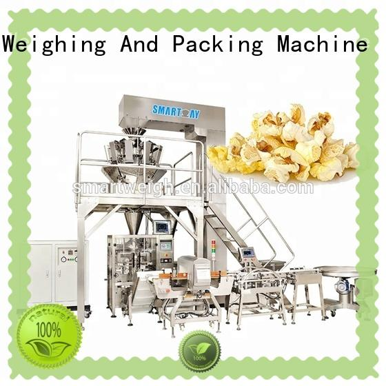 Smart Weigh new vertical bagging machine for meat packing