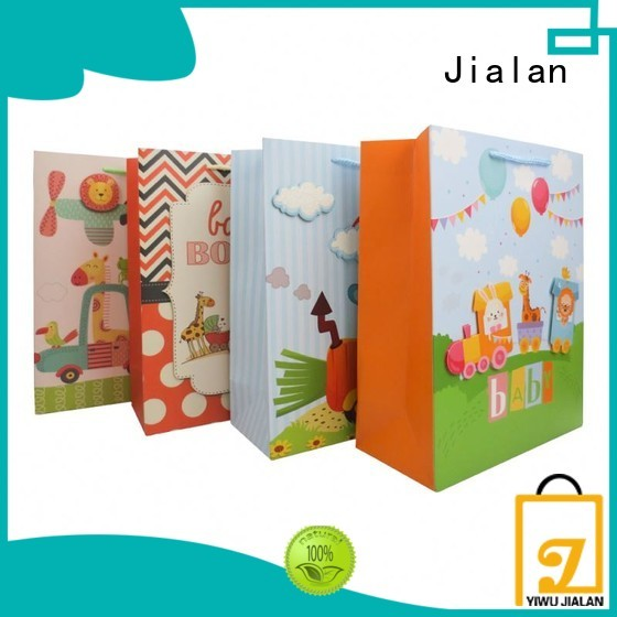 Jialan paper gift bags for sale for holiday gifts packing