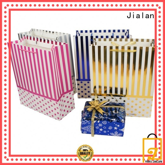 Jialan paper carry bags supplier for gift packing