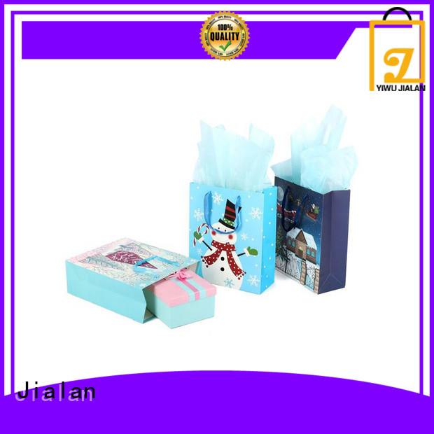 Jialan paper gift bags for sale for gift packing