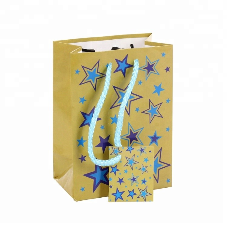 Wholesale Low Cost Custom Printing Gift Box Packaging Paper Bags