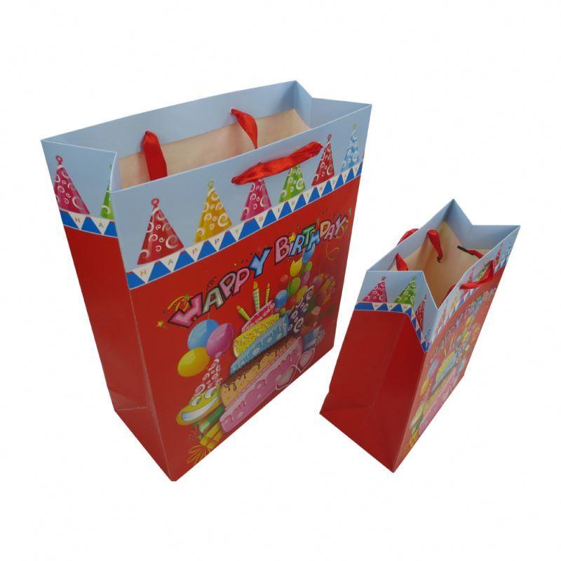 Personalized Women Fashion Art Paper Sac Paper Shopping Bag Multicolor Fashion Paper Bag