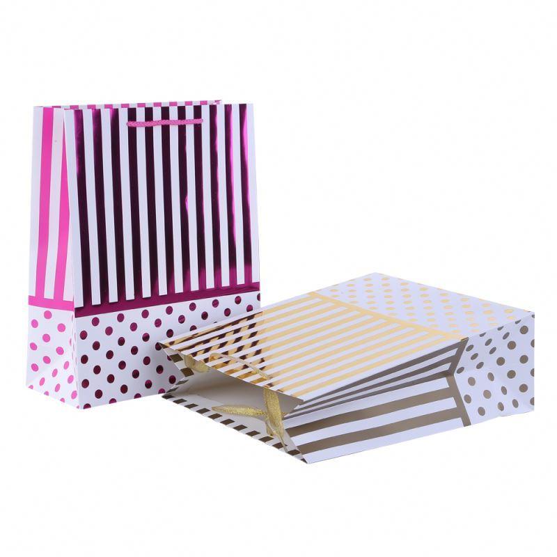 Good quality fancy paper bag workmanship luxury gift promotion paper bag