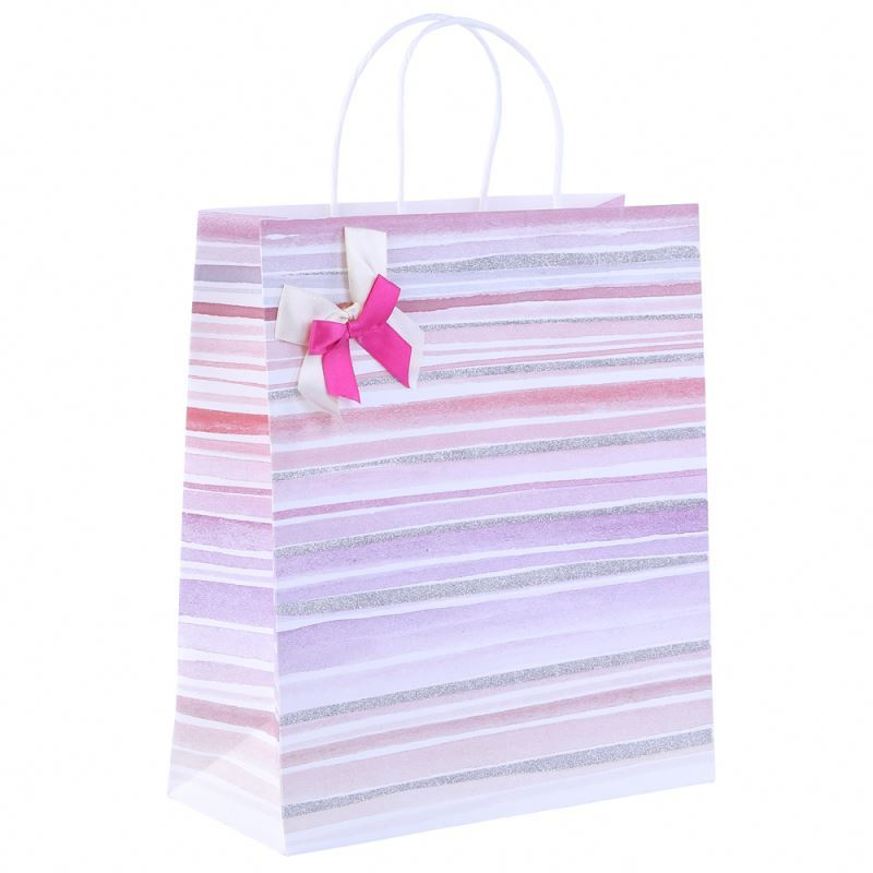 Top fashion low cost packing paper bag printed paper bag for groceries