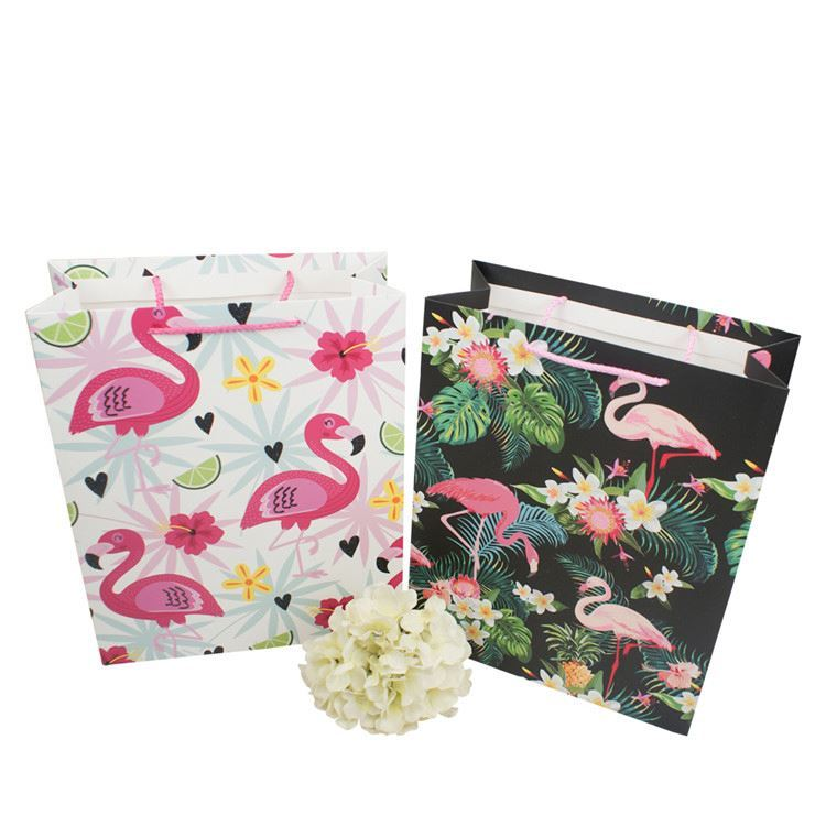 Latest product paper bags with handles exquisite handmade shopping paper bag