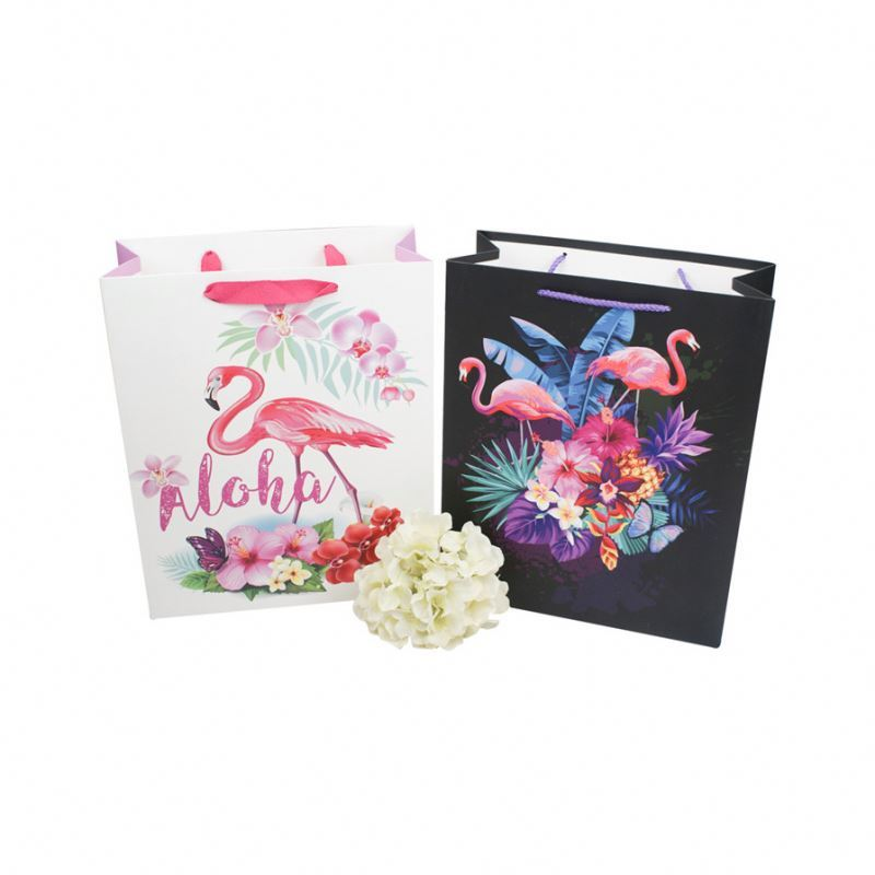 Professional supplier paper shopping bag gift packing paper carry bag