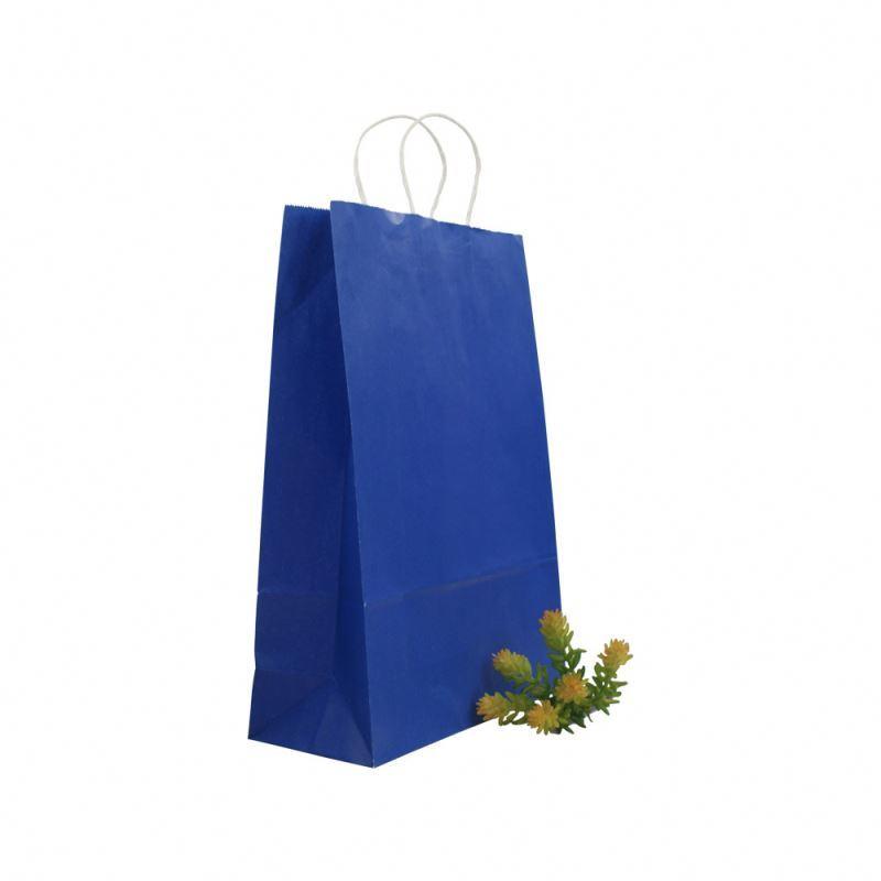 New arrival kraft paper bag shopping take away shopping kraft tote bag