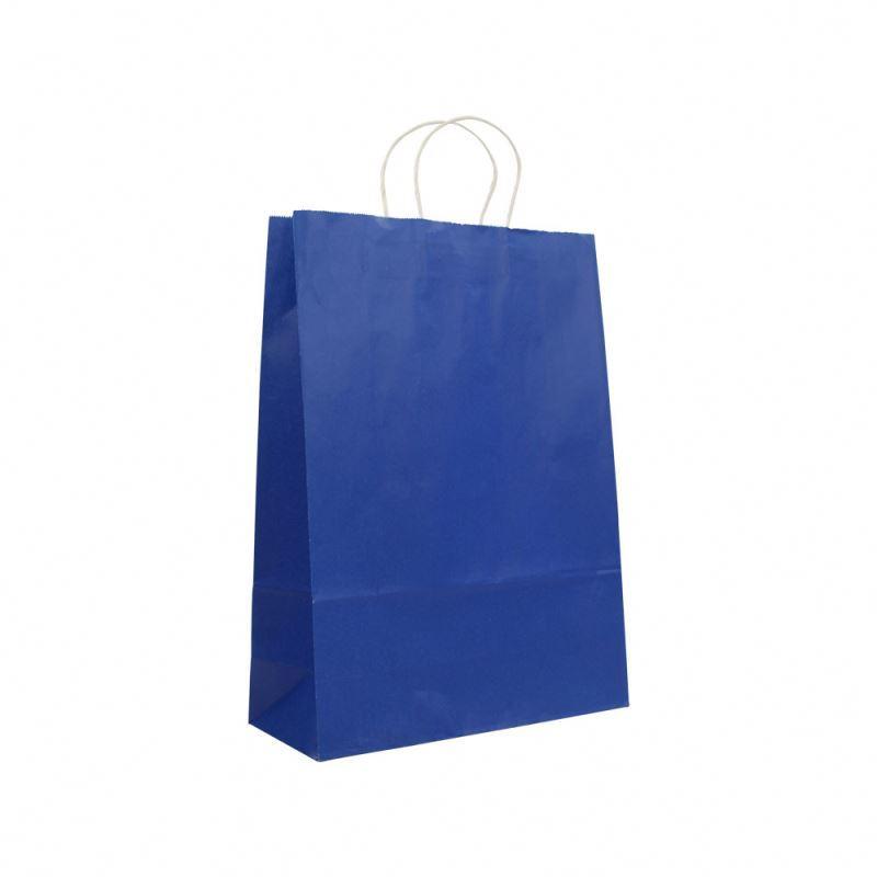 Hot selling high quality kraft paper bag eco friendly custom print kraft paper bag