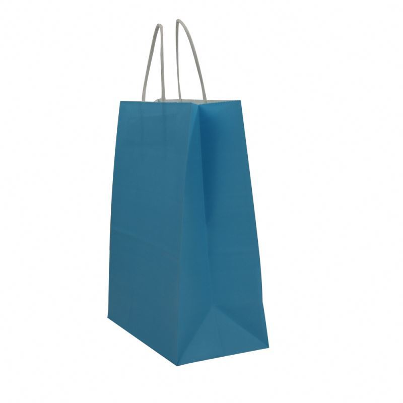 Professional made kraft paper bag for shop workmanship recycle kraft paper bag