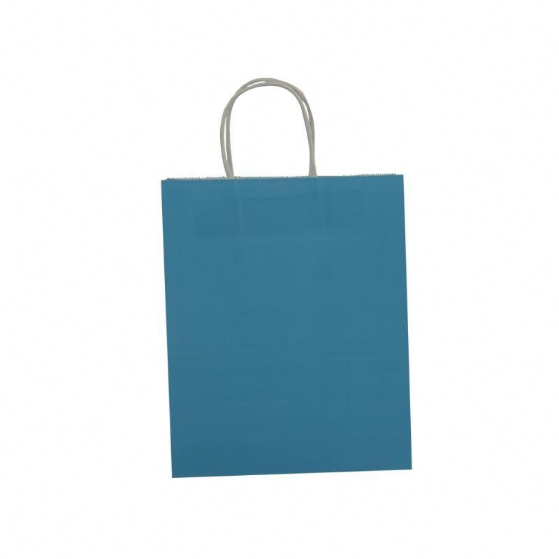 Different types kraft paper bag gift custom logo kraft paper bag with handle