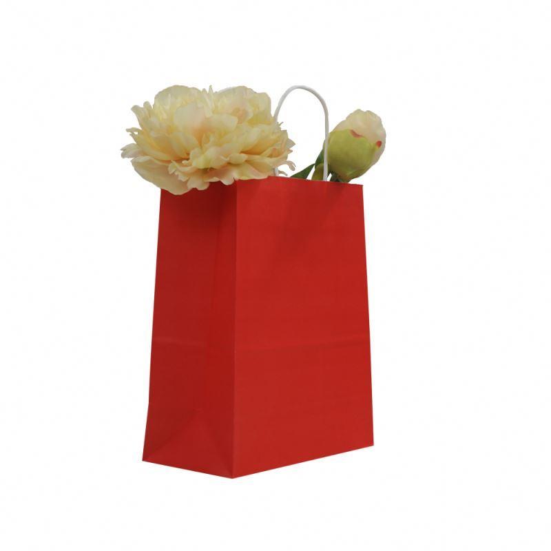 Super quality waterproof kraft bag gift packing print kraft paper bag