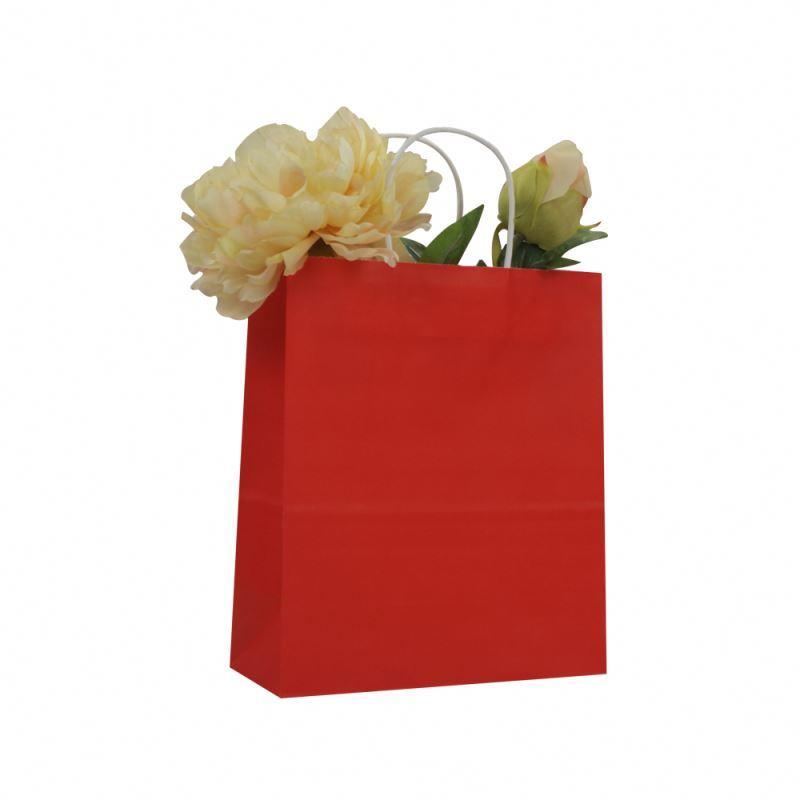 Special design manufacture kraft paper bag luxury gift kraft paper bag with custom print