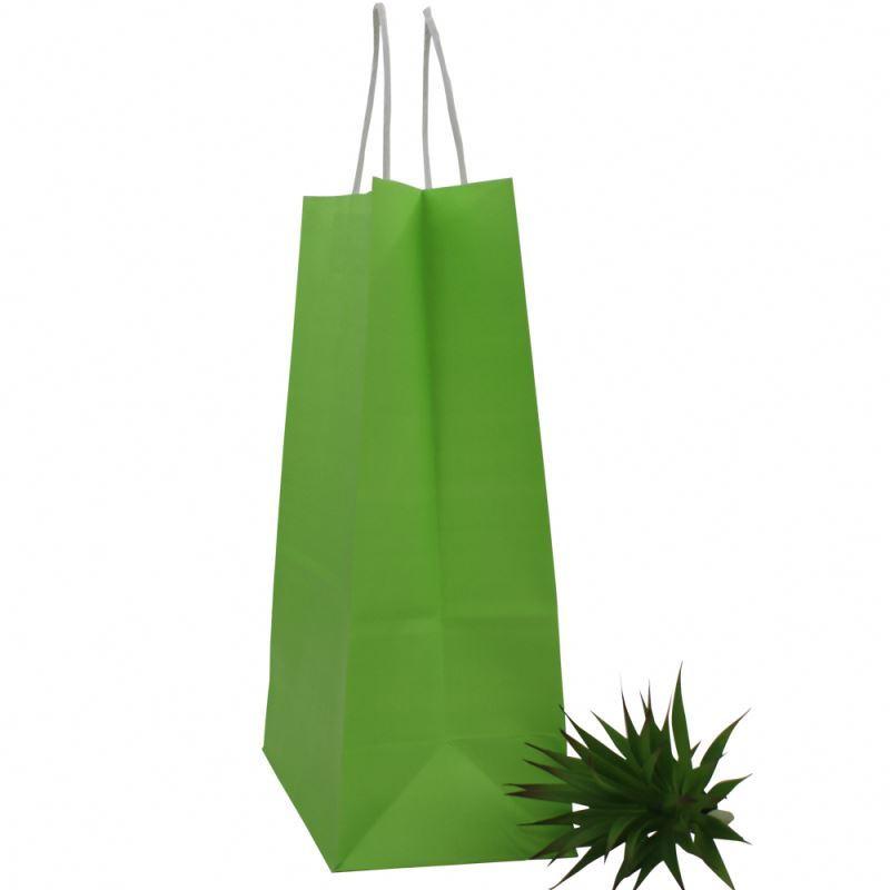 Trendy style custom paper bag kraft wholesale small kraft paper bag