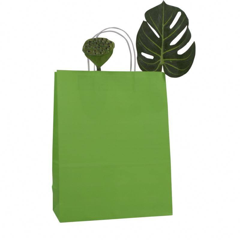 Good quality gift paper bag kraft customizable bag kraft paper