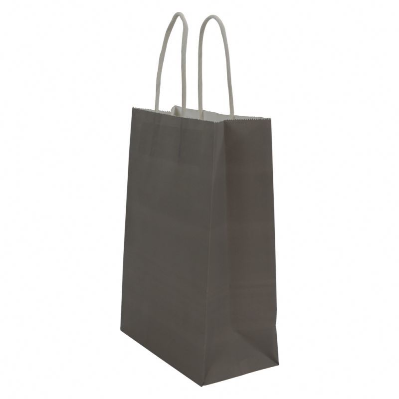 New arrival kraft paper packaging bag take away shopping paper bag kraft