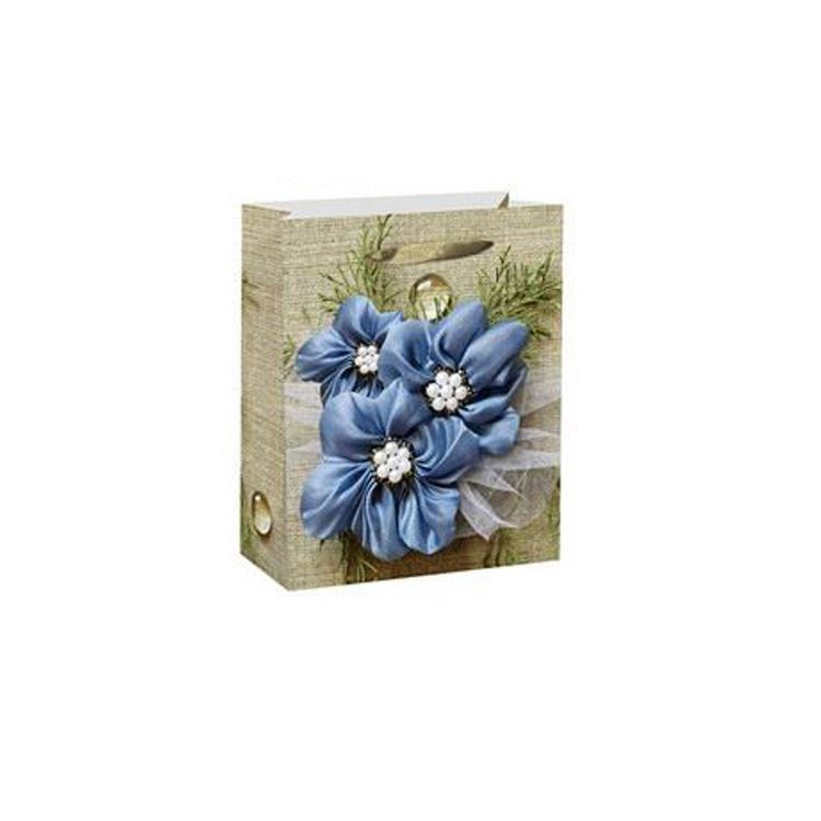 Factory supply luxury paper shopping bag recycled tissue paper bag