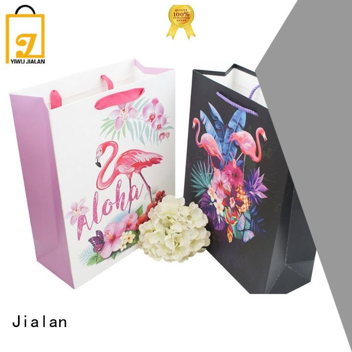 Jialan cost saving paper gift bag factory