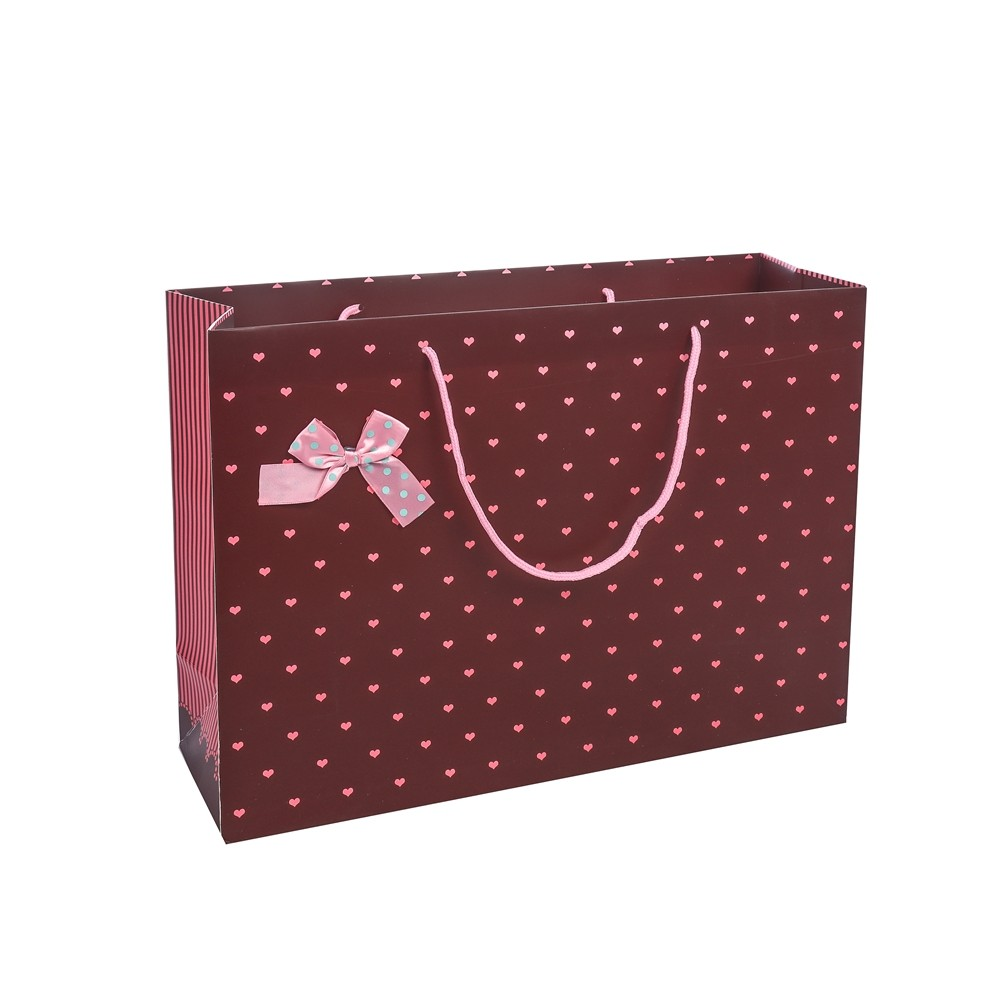 Hot Sales Fashion Decorative Colorful Printing Shopper Party Paper Birthday Gift Bags For Shopping