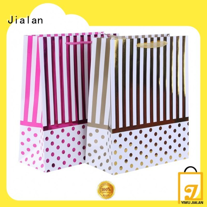 Jialan paper bag company widely employed for gift packing