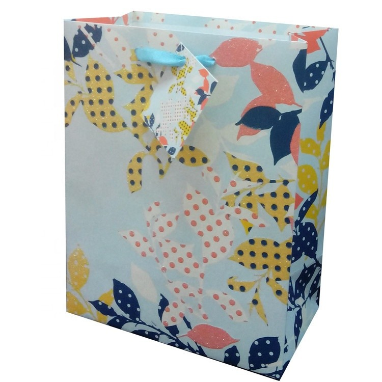 Manufacturer Wholesale High Quality Luxury Recycled Paper Gift Bags For Shopping Clothing