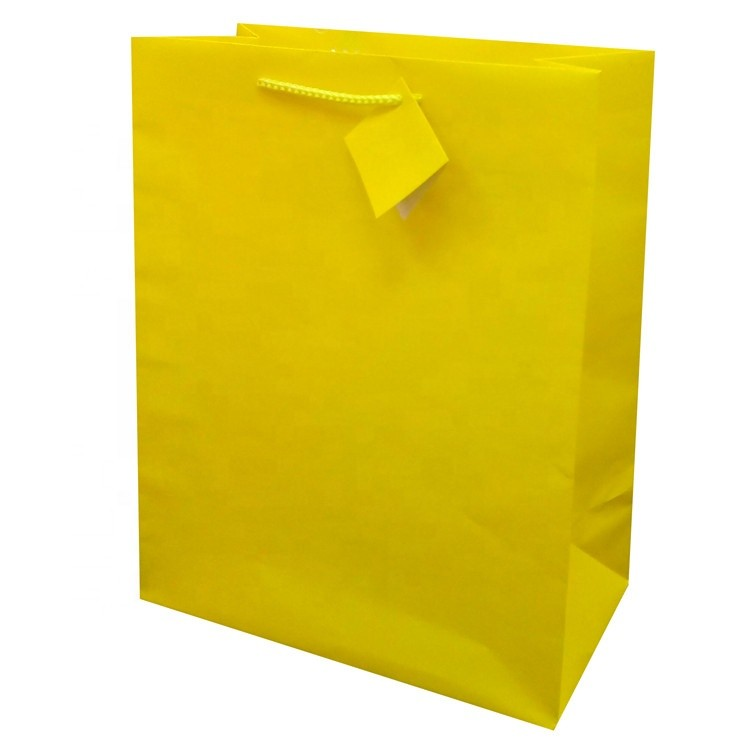 Fashion Recyclable Feature Custom Made Printing Carrier Blue Holiday Shopping Paper Gift Bag For Wedding