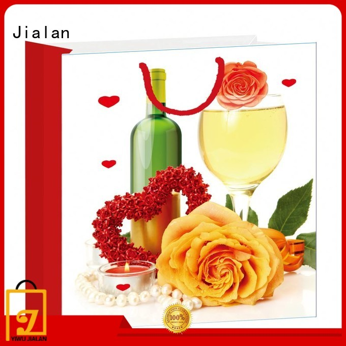 Jialan personalized gift bags widely employed for gift packing