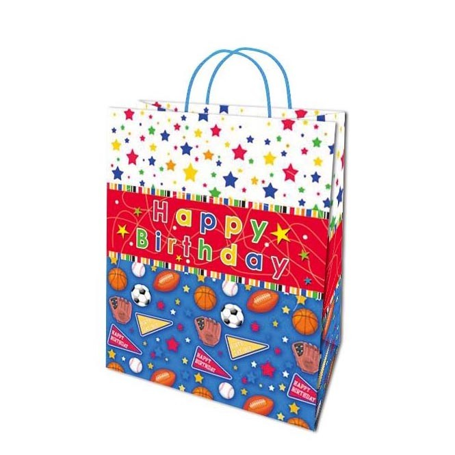 2019 Customized Fancy Creative Heavy-Duty Prominent Paper Gift Bag Birthday Gift Bag